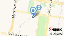Гаражно-строительный кооператив №3 на карте