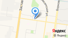 Торговая компания автозапчастей на карте