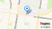 Flash Drive на карте