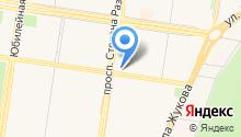 KYK на карте