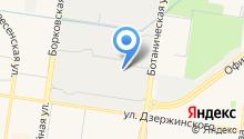 Автострит на карте