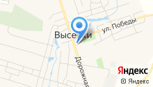 Ставропольское райПО-КР на карте