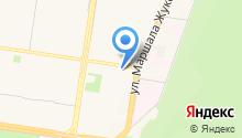 Contact на карте