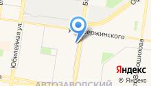 Российский социальный на карте