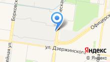 АРМ АВТО на карте