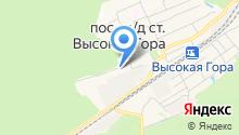 БАЗ на карте