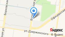 АЗС Терминал на карте