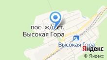 Продуктовый магазин на Пролетарской на карте