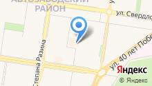 Biro на карте
