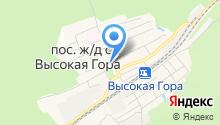 Биектау ТВ на карте