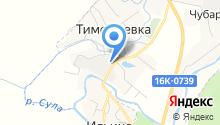 Усадский спиртзавод на карте