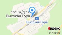 ОВД по Высокогорскому району на карте