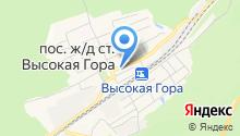 Архитек на карте