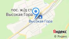 Магазин товаров смешанного типа на Станционной на карте