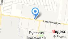 Продуктовый магазин на Северной на карте