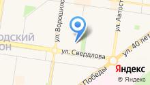 Аварийно-восстановительные работы на карте