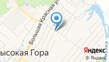 Пункт почтовой связи на карте