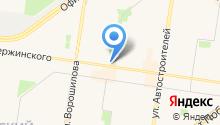 Эдельвейс, МБОУ ДО на карте