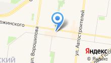 Ян на карте