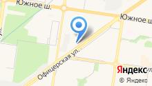 Ока-центр на карте