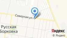 Похоронное бюро на Северной на карте