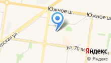 BRUTAL GYM на карте