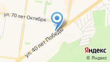 МАРС-АВТОЗАПЧАСТИ на карте