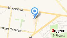 Яшинский рынок на карте