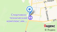 АГЗС на ул. Родины на карте