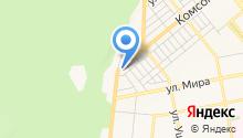 Резиденция на Комсомольской на карте