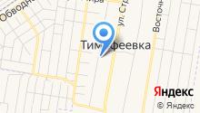 Почтовое отделение №445140 на карте