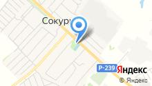 Сокуровское сельское поселение на карте