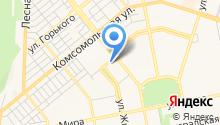 Единая дежурно-диспетчерская служба муниципального района Ставропольский на карте