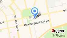 Танцмейстер-Бегония, НОУ на карте