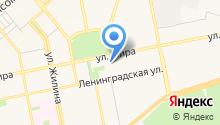 Магазин верхней одежды на карте