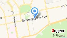 Лесна на карте