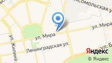 Caspita на карте