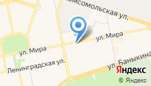 Автомаг на карте