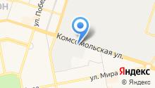 01 Eдиная служба аварийных комиссаров РФ на карте
