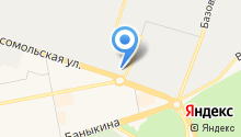 ТЗТО на карте