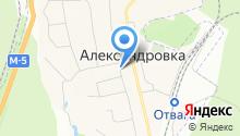 Администрация сельского поселения Александровка на карте