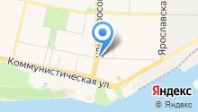 Crassula на карте