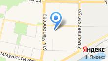 Управляющая компания №4, МП на карте