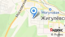 Отдел МВД по г. Жигулевску на карте