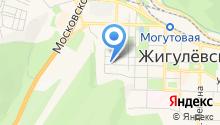 Прокуратура городского округа Жигулёвск на карте
