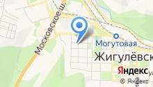 Газпром межрегионгаз Самара на карте