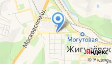Волга-связь на карте