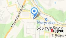 Центр гражданской защиты населения городского округа Жигулёвск на карте