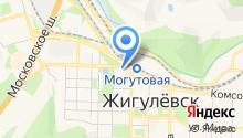 Городское на карте