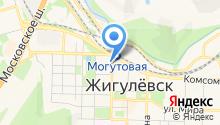 Отдел сводных статистических работ г. Жигулёвска на карте